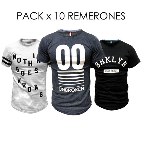 Pack 10 Remerones