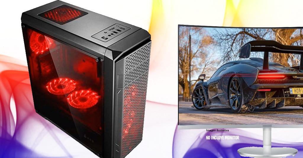PC RYZEN 3 2200G + 8GB + RX 570 + SSD 240GB