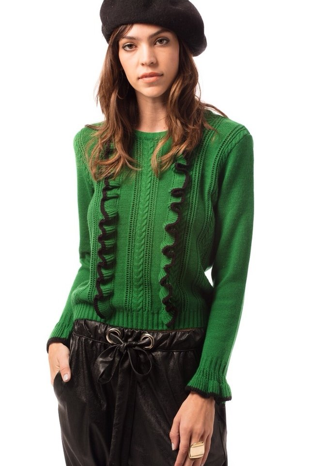 Sweater Chanel verde