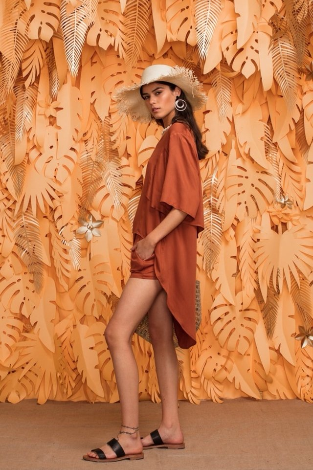 Blusa Africa Ocre