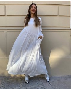 Vestido Birkin Off White  en internet