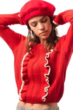 Sweater Chanel Rojo - comprar online