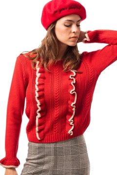 Sweater Chanel Rojo