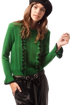 Sweater Chanel verde  - comprar online