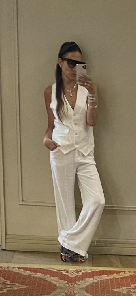 Pantalon Saint Germain Off White - IVANAW