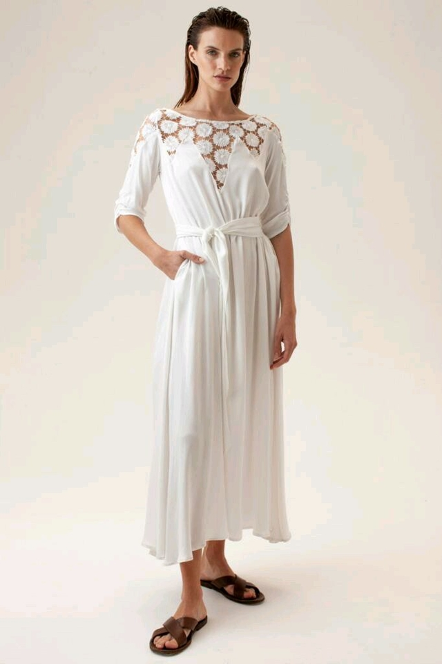 Vestido Paris off white