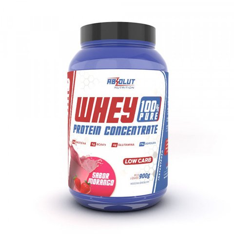 WHEY PROTEIN 100% PURE 900g - ABSOLUT NUTRITION
