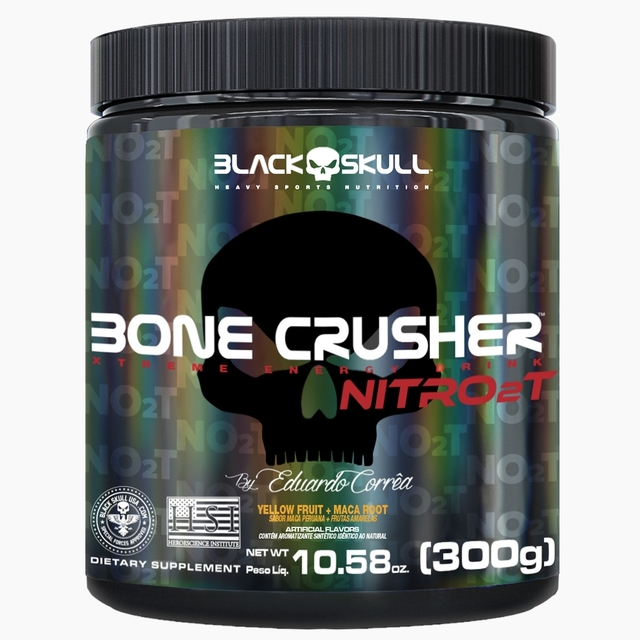 BONE CRUSHER NITRO 2T 300G - BLACK SKULL