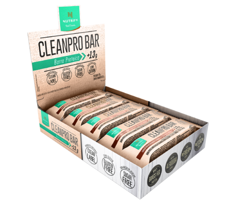 CLEANPRO BAR CX. C/ 10 UN. - NUTRIFY