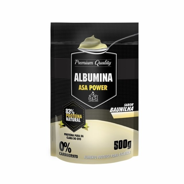 ALBUMINA PURA 500G - ASA POWER
