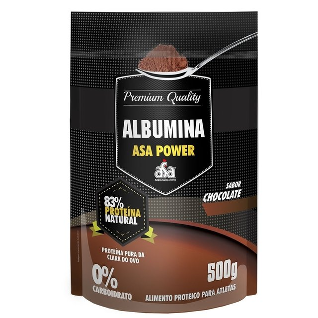 ALBUMINA PURA 500G - ASA POWER na internet