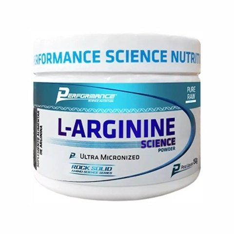 ARGININA PURA 150G - PERFORMANCE