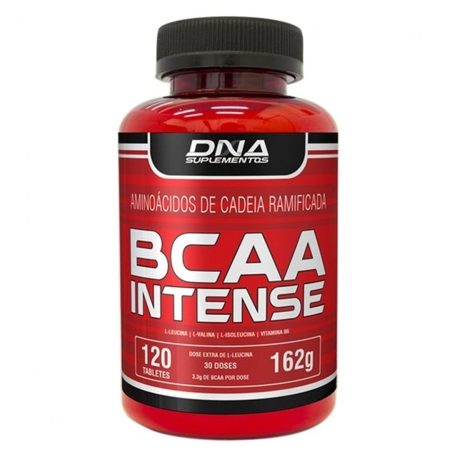 BCAA INTENSE 120 TABS - DNA