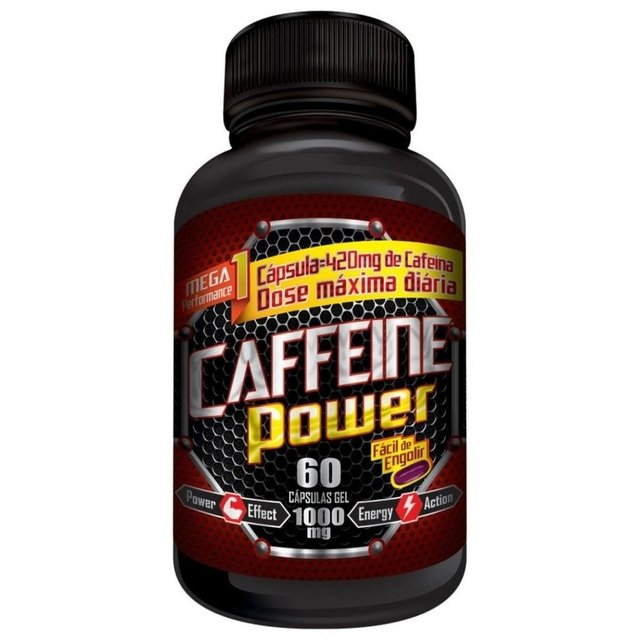 CAFFEINE POWER 420MG 60 CAPS - TRANSCEND