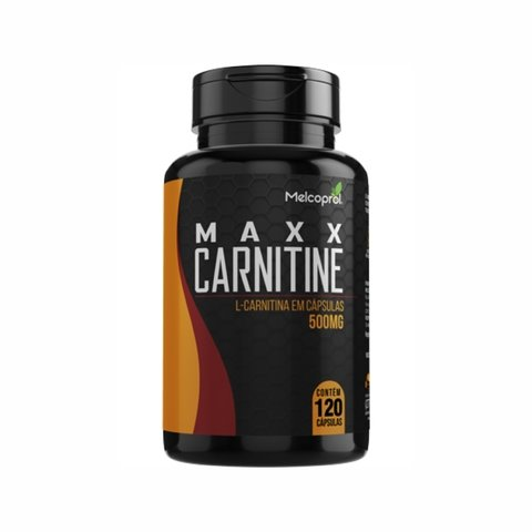 L-CARNITINA 500MG 120 CAPS - MELCOPROL