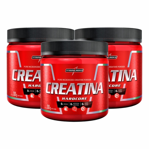 COMBO KIT 3UN CREATINA PURA 300G - INTEGRALMÉDICA