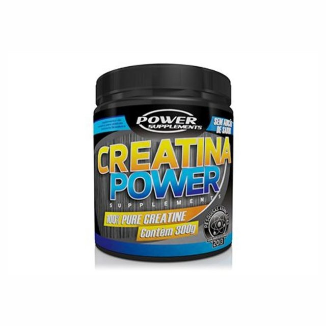 CREATINA PURA 300G - POWER SUPPLEMENTS
