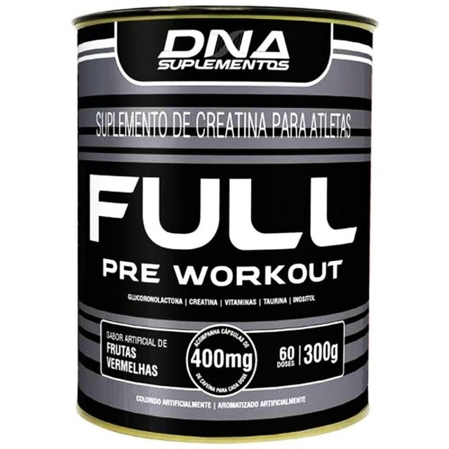 FULL PRÉ WORKOUT 300G - DNA