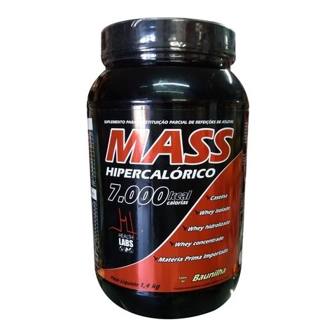 MASS 7000 1,4KG - HEALTH LABS