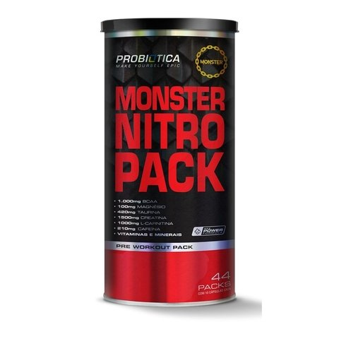 MONSTER NITRO PACK 44 PACK - PROBIÓTICA