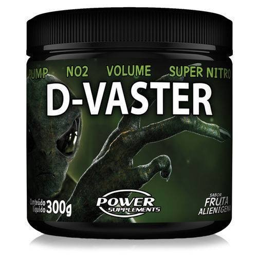 PRÉ TREINO D-VASTER 300G - POWER SUPPLEMENTS