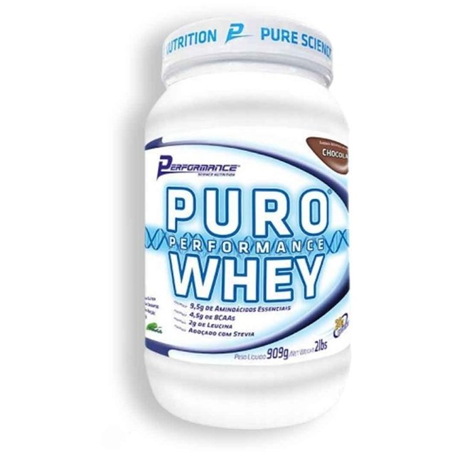 PURO WHEY PROTEIN 900G - PERFORMANCE