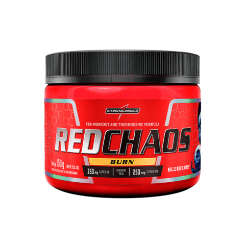 RED CHAOS BURN TERMOGÊNICO 150G - INTEGRAMELDICA