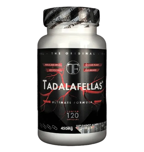 TADALAFELLAS 450MG 120 CAPS - POWER SUPPLEMENTS
