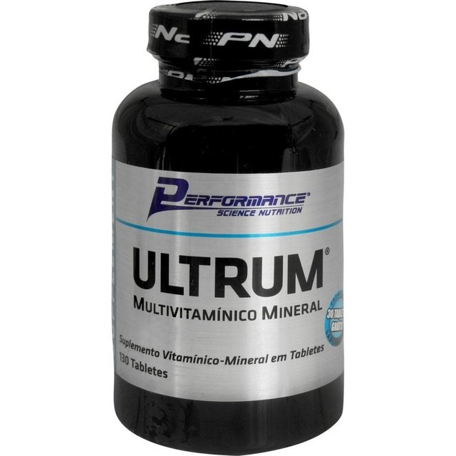 ULTRUM MULTIVITAMÍNICO 100 TABLETES - PERFORMANCE