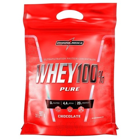 SUPER WHEY 100% 900g REFIL - INTEGRALMEDICA
