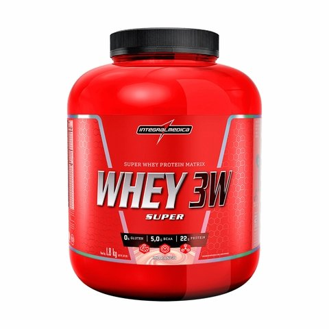 SUPER WHEY 3W 1,8Kg - INTEGRALMÉDICA