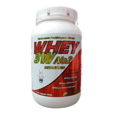 WHEY PROTEIN 3W 900g - HEALTH LABS