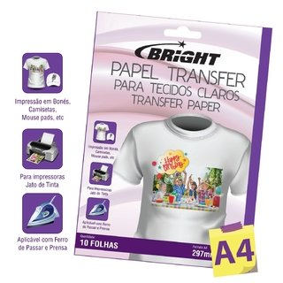Papel Transfer Bright A4