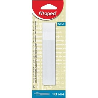 Lamina Para Estilete Maped Largo 18mm