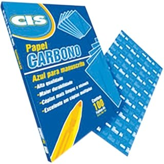 Papel Carbono CIS Azul A4 Papel 100 Fls