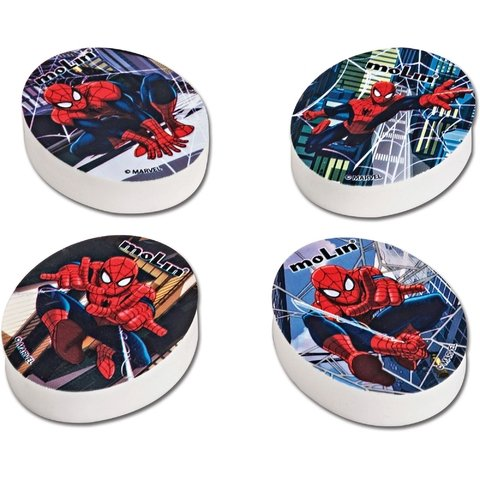 Borracha Decorada Spider-Man Sortidas 20 Unid