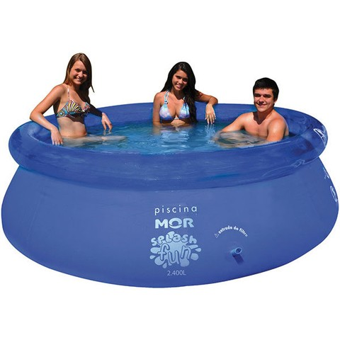 Piscina Redonda 2400 Litros Splash Fun Mor