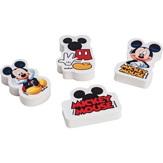 Borracha Decorada Mickey Sortidas 20 Unid