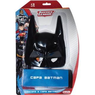 Batman Liga Da Justica Capa+Mascara Baby......