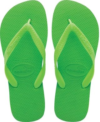 Chinelo Havaianas Top Green Neon