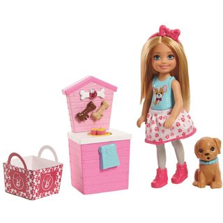Barbie Chelsea Barraca Lanches Pets Fhp67 Mattel