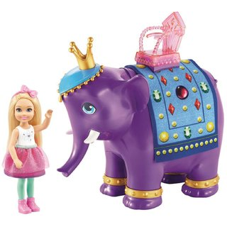 Barbie Fan Chelsea e O Rei Elefante