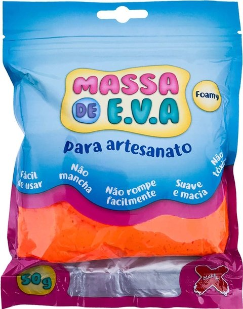Massa De Eva Laranja 50g Make+