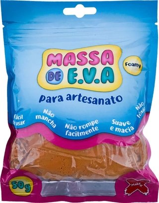 Massa De Eva Marron 50g Make+