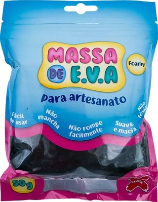 Massa De Eva Preto 50g Make+