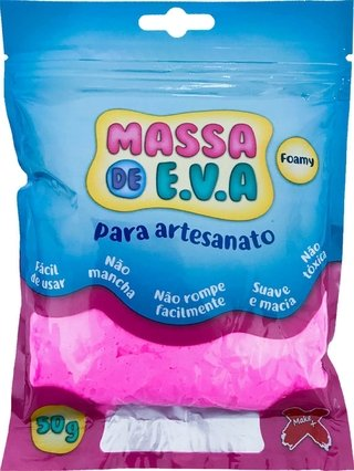 Massa De Eva Rosa 50g Make+