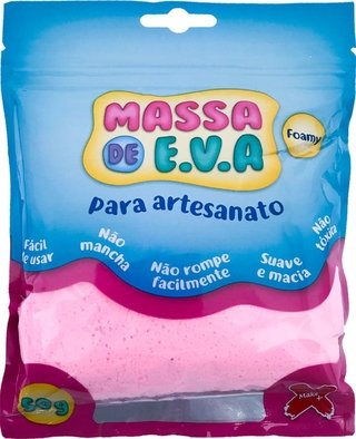 Massa De Eva Rosa Bebe 50g Make+