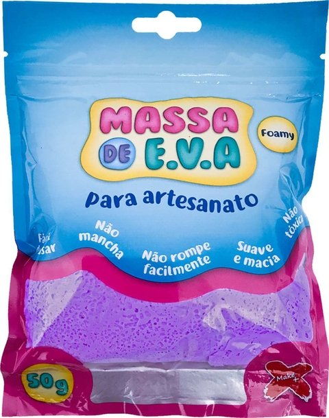 Massa De Eva Roxo 50g Make+