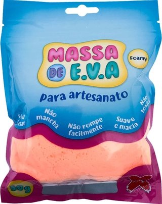 Massa De Eva Salmao 50g Make+