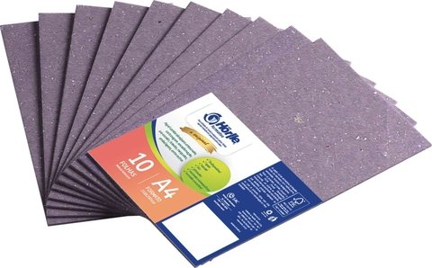 Papel Cartao Holler Lilas Color A4 2mm 10 Fls Reciclado